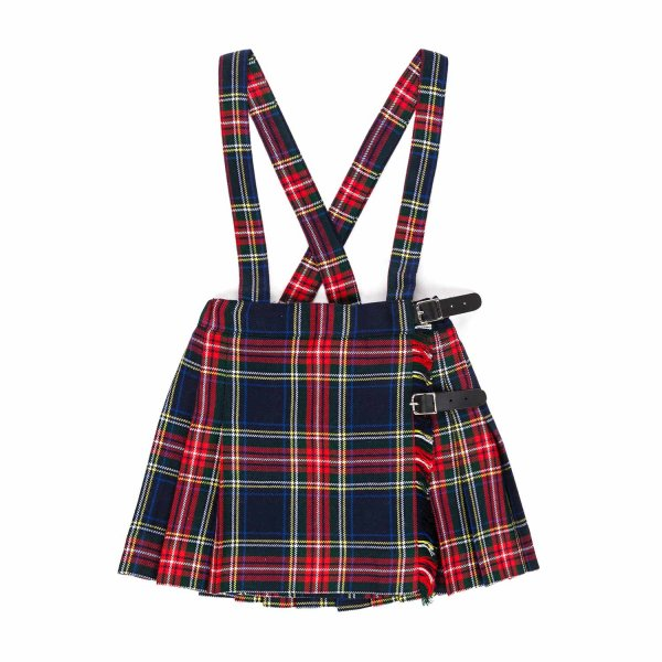 Paio Crippa - LITTLE GIRLS TARTAN SKIRT