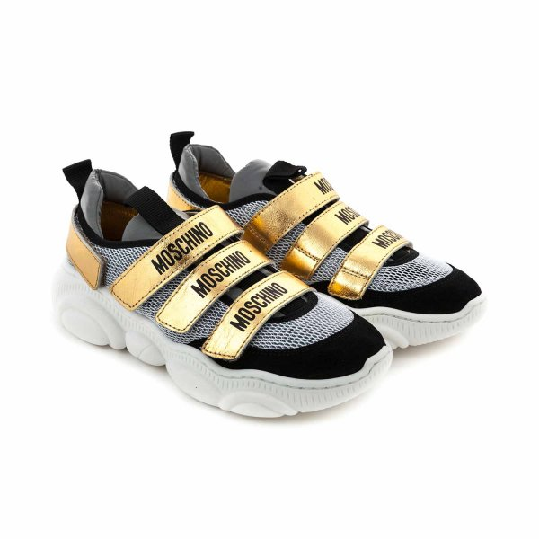 Moschino - SNEAKERS UNISEX WITH LOGO