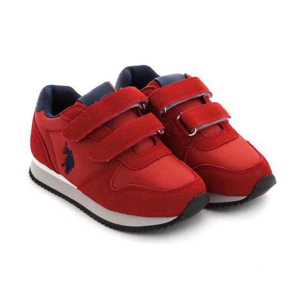 U.s. Polo Assn. - UNISEX RED SNEAKERS