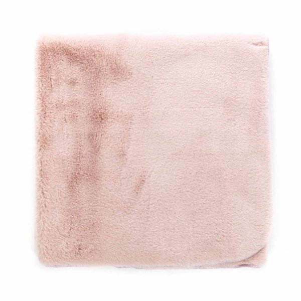 Olive - FLEECE PINK BLANKET FOR BABY GIRL
