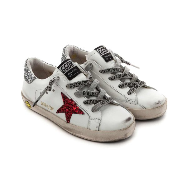 Golden Goose - BABY GIRL GLITTER SSTAR SNEAKERS