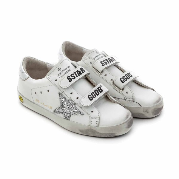 Golden Goose - SNEAKERS OLD SCHOOL PER BIMBA
