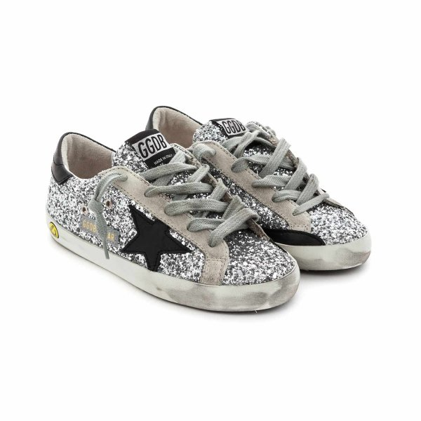 Golden Goose - SILVER SSTAR SNEAKERS FOR GIRL