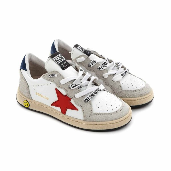 Golden Goose - BOY AND GIRL BALLSTAR SNEAKERS