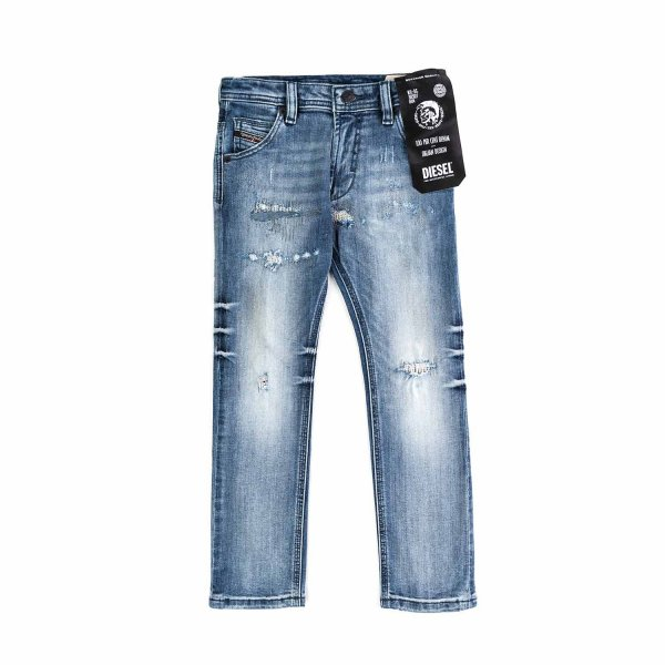 Diesel - BOY AND TEEN DESTROYED JEANS