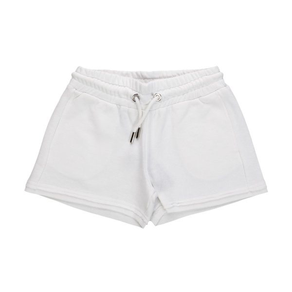 Diesel - WHITE COTTON SHORTS FOR GIRL