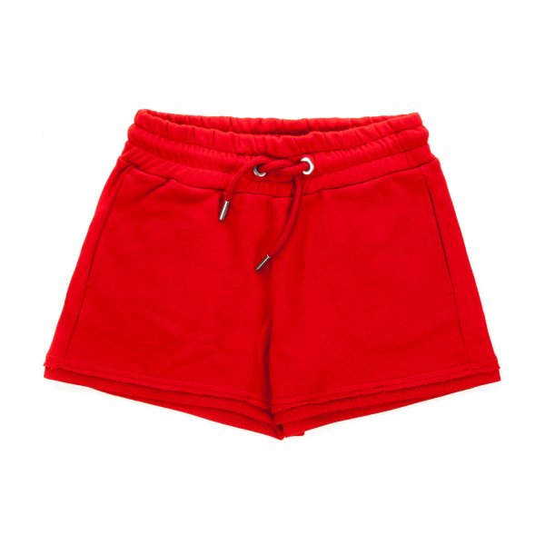 Diesel - COTTON RED SHORTS FOR GIRL