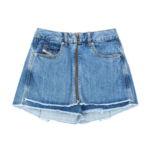 Diesel - SHORTS IN DENIM FOR GIRL