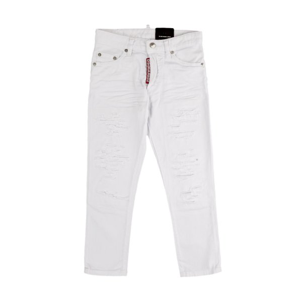 Dsquared2 - DESTROYED TROUSERS FOR BOYS