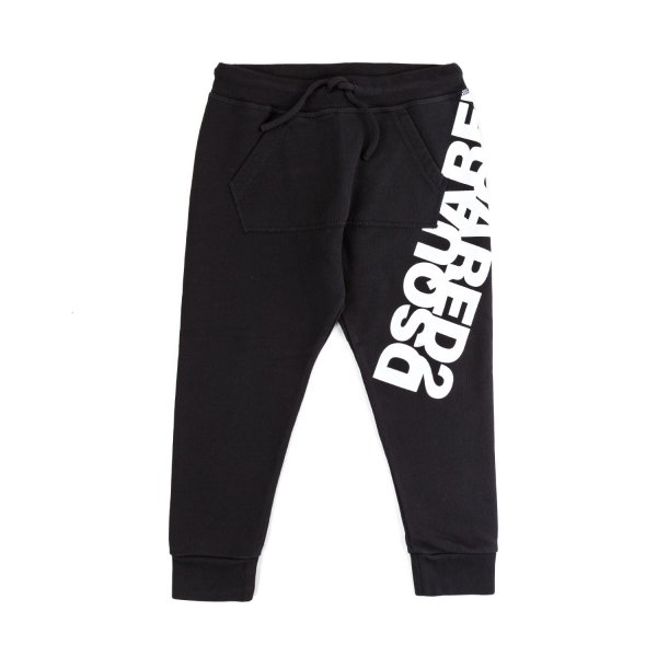 Dsquared2 - BLACK JOGGER PANTS FOR BOYS