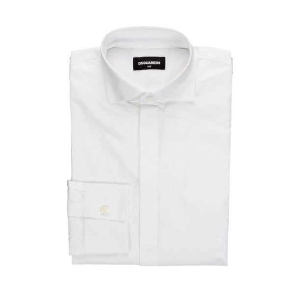 Dsquared2 - BOY AND TEEN WHITE SHIRT