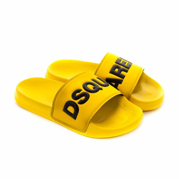 Dsquared2 - UNISEX RUBBER SANDALS WITH LOGO