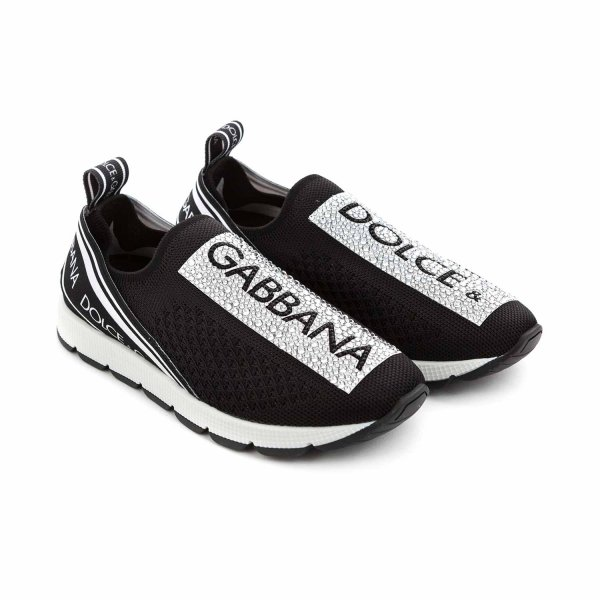 Dolce & Gabbana - SLIP ON SNEAKERS FOR GIRLS