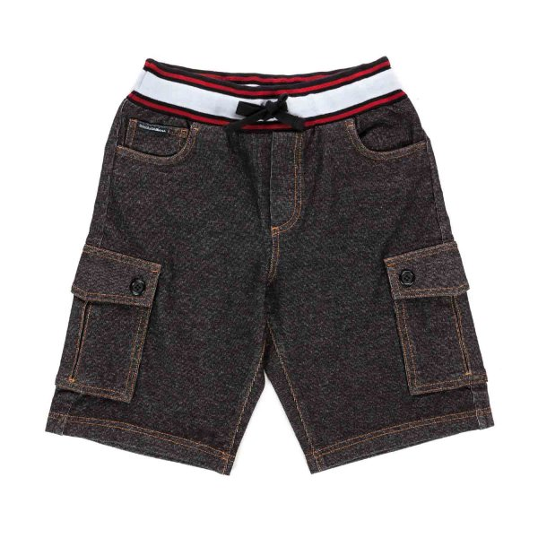 Dolce & Gabbana - BOY SHORTS WITH POCKETS