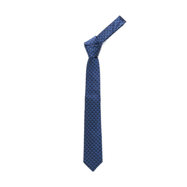 Armani Junior - BLUE SILK TIE FOR BOY
