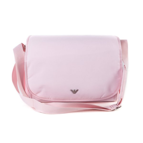 Armani Junior - PINK MOMMY BAG WITH LOGO