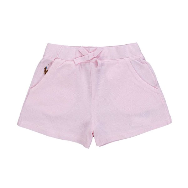 Ralph Lauren - BABY GIRLS PINK COTTON SHORTS