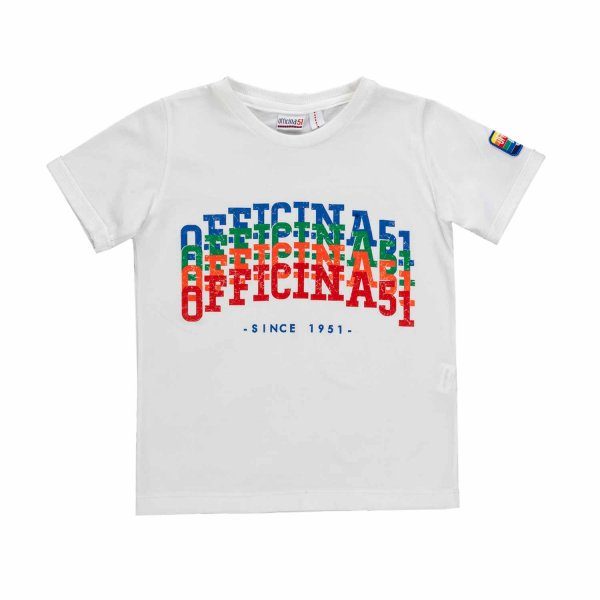Officina51 - TEEN AND BOY PRINTED T-SHIRT