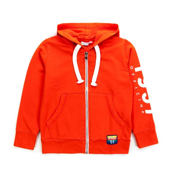 Officina51 - ORANGE HOODIE FOR BOYS