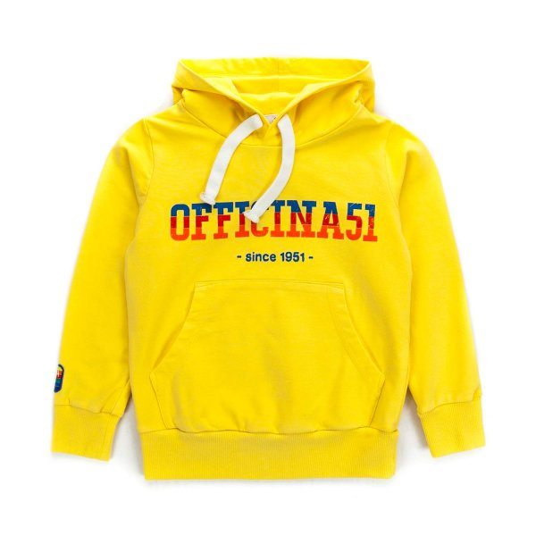 Officina51 - BOY YELLOW HOODIE
