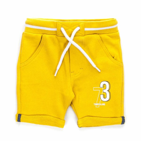 Timberland - YELLOW SHORTS FOR BABY BOY