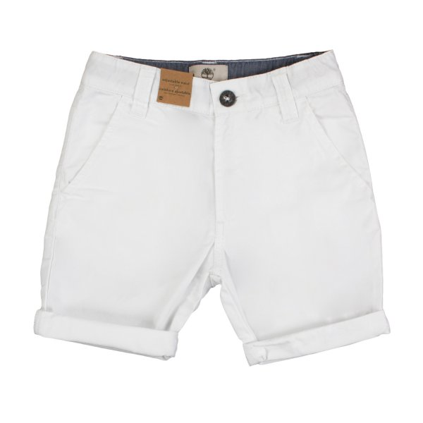 Timberland - BOY AND TEEN WHITE SHORTS