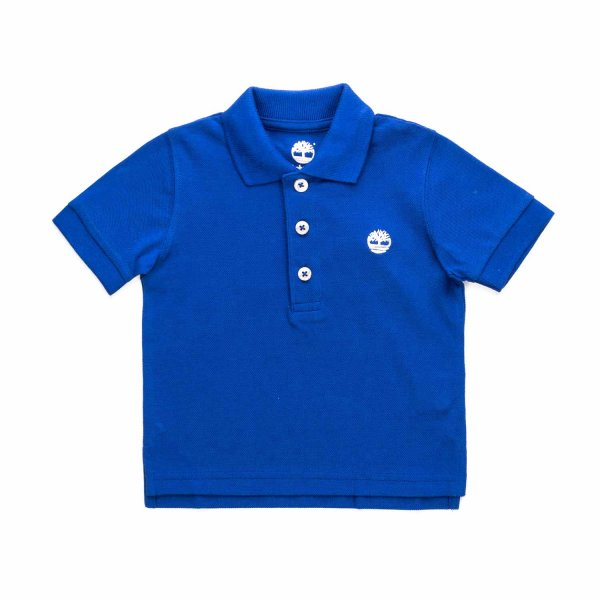 Timberland - BOY AND TEEN BLUE POLO SHIRT