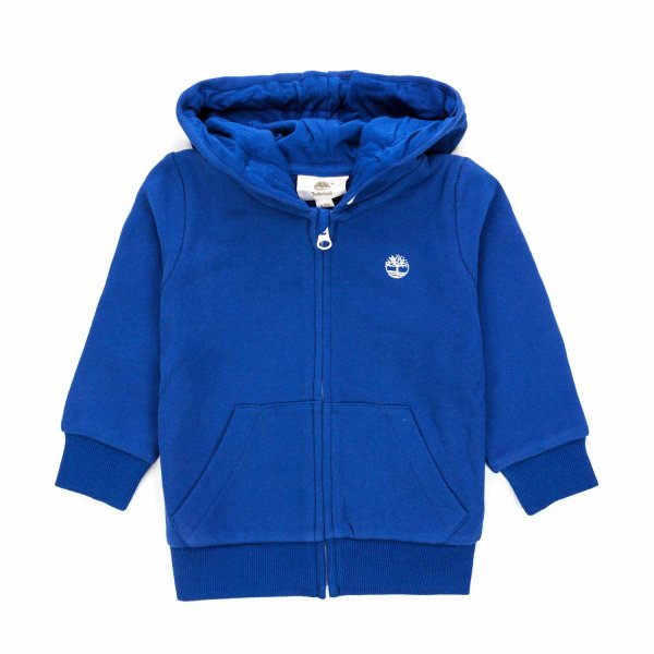Timberland - BLUE ZIP HOODIE FOR BOY AND TEEN