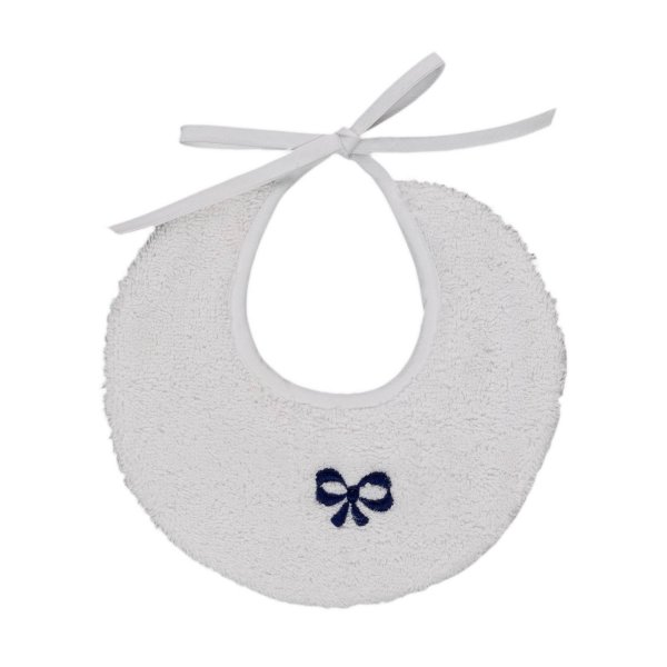 Baroni - UNISEX BIB WITH A BLUE BOW