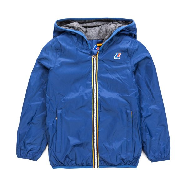 K-Way - BLUE JACQUES JACKET FOR BOYS