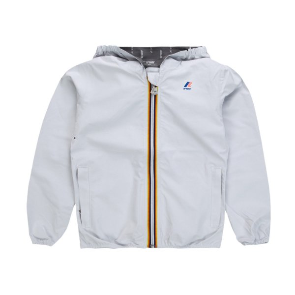 K-Way - WHITE LIL JACKET FOR GIRLS