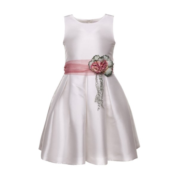 Mimilú - WHITE DRESS FOR GIRL AND TEEN