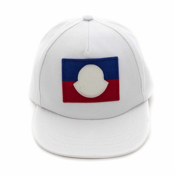 Moncler - WHITE CAP FOR BOY