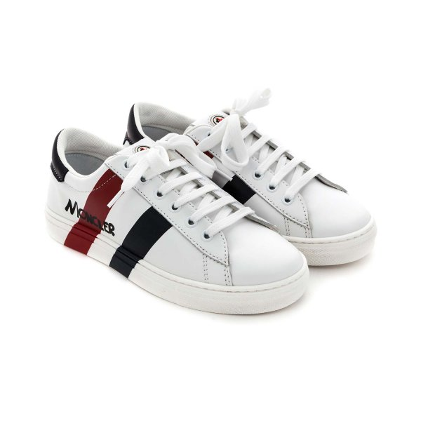 Moncler - SNEAKERS BIANCHE LOGO UNISEX