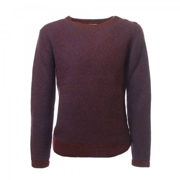 American Outfitters - PULLOVER BORDEAUX BAMBINO E TEEN