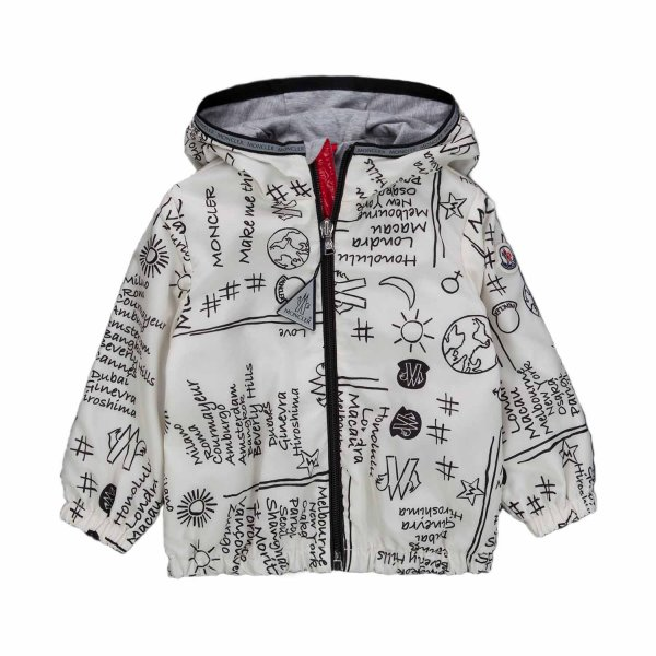 Moncler - BOUTON JACKET FOR BABY BOYS