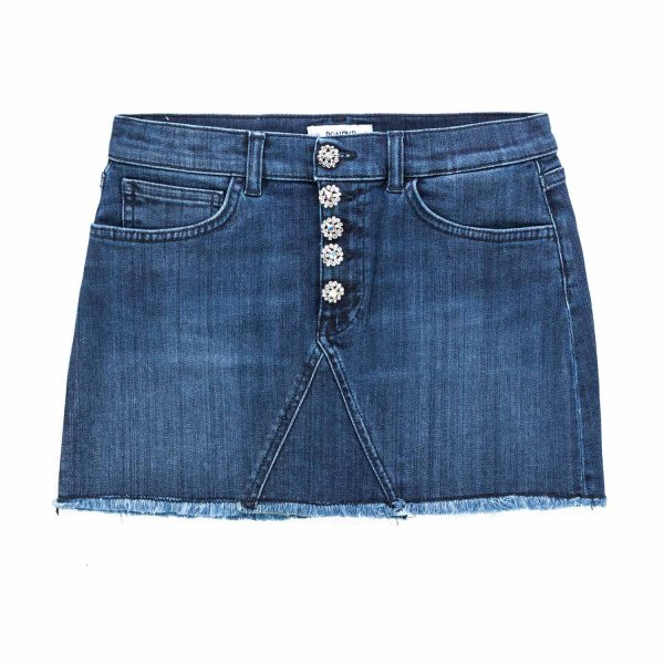 Dondup - DENIM SKIRT FOR GIRL AND TEEN
