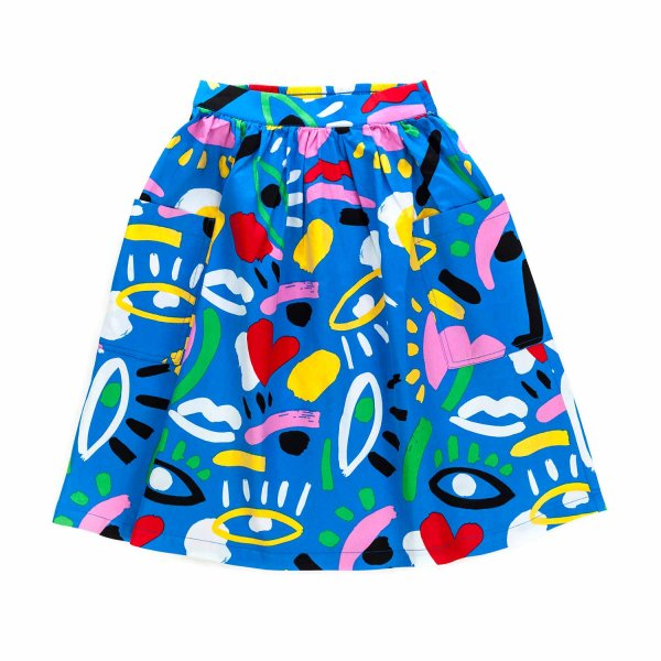 Stella Mccartney - COTTON SKIRT FOR GIRL