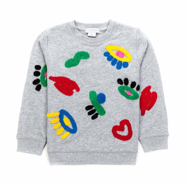 Stella Mccartney - GIRL ORGANIC COTTON SWEATSHIRT