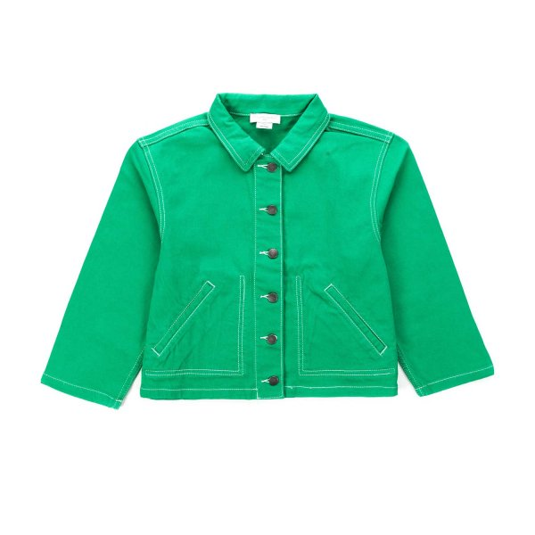 Stella Mccartney - GREEN JACKET FOR GIRLS