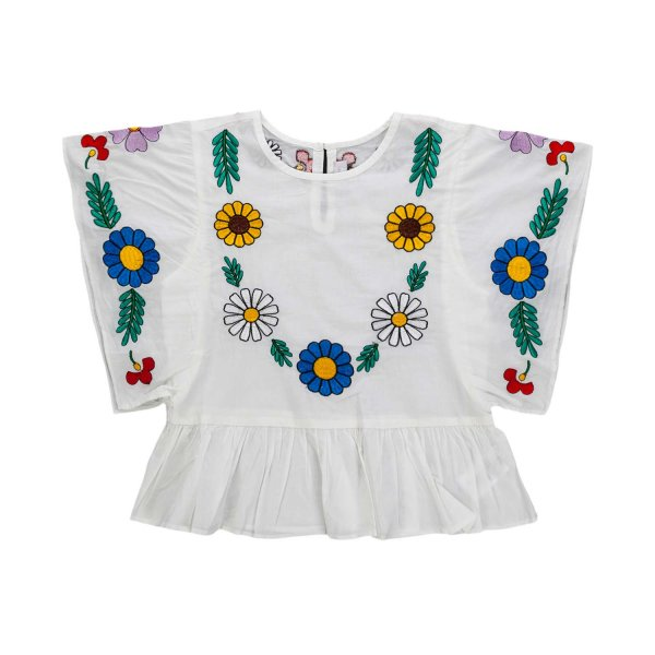 Stella Mccartney - FLOWER BLOUSE FOR GIRL