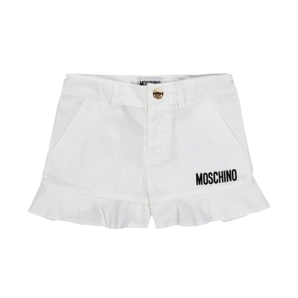 Moschino - GIRL AND TEEN WHITE SHORTS