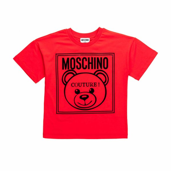 Moschino - UNISEX T-SHIRT WITH TEDDY BEAR