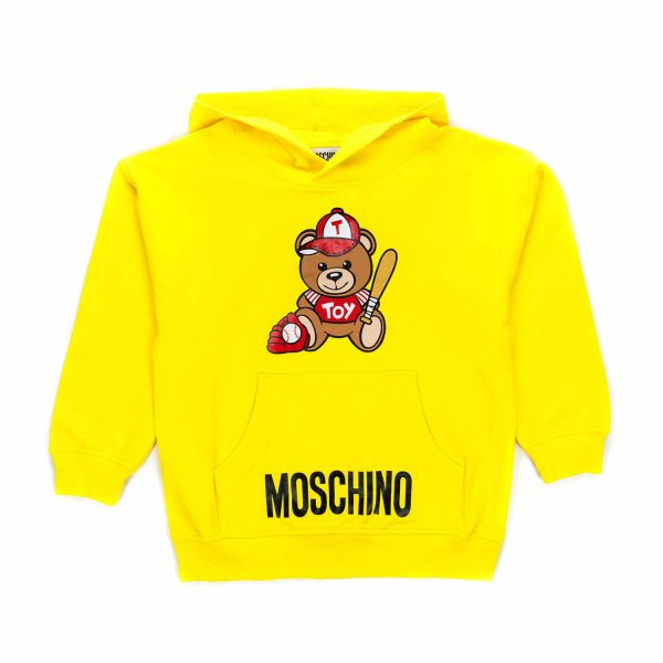 Moschino - YELLOW HOODIE FOR BOY