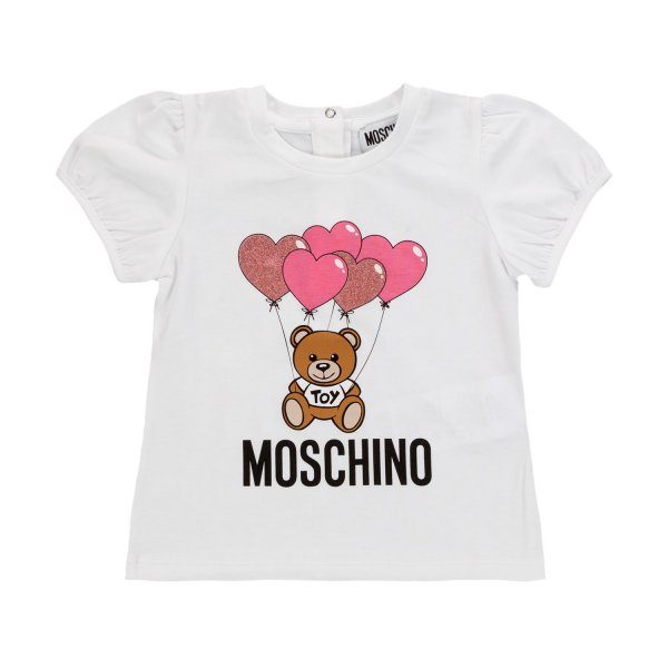 Moschino - BABY GIRL TEDDY PRINT T-SHIRT
