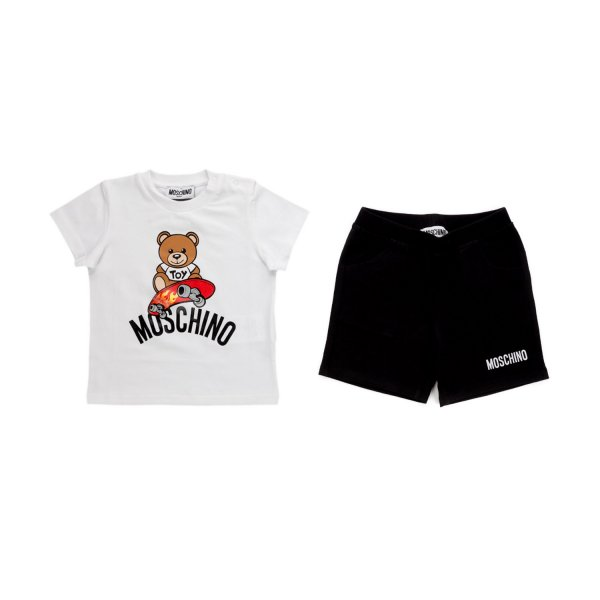 Moschino - BABY BOY T-SHIRT AND SHORTS SET