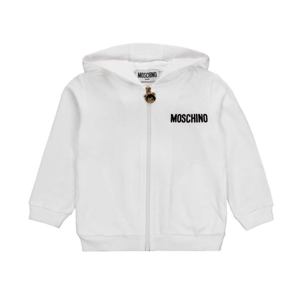 Moschino - TEDDY BEAR HOODIE FOR BABY
