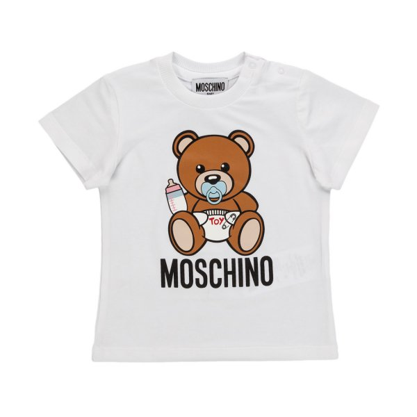 Moschino - BABY TEDDY BEAR T-SHIRT