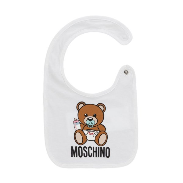 Moschino - TEDDY BEAR BIB FOR BABY
