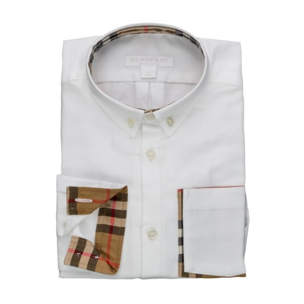 Burberry - OXFORD SHIRT FOR BOYS